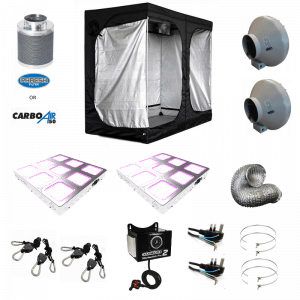 240 x 120 x 200cm Complete LED Grow Tent Kit